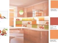 Керамическая плитка для кухни - Коллекция Фрукты