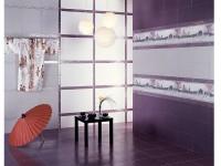 Керамическая плитка -  Коллекция Кимоно
